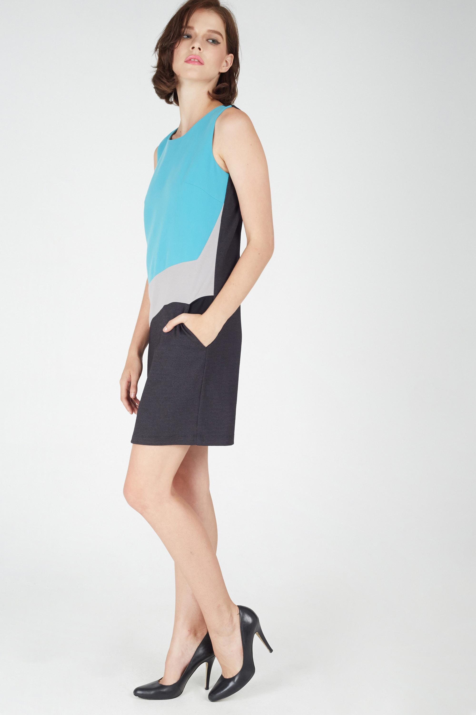 AIDY COL-BLOCK DRESS