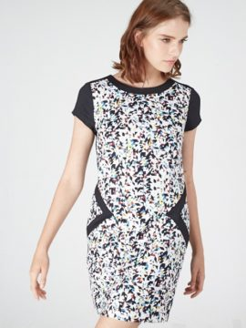 VIVA PRINTED SHIFT DRESS