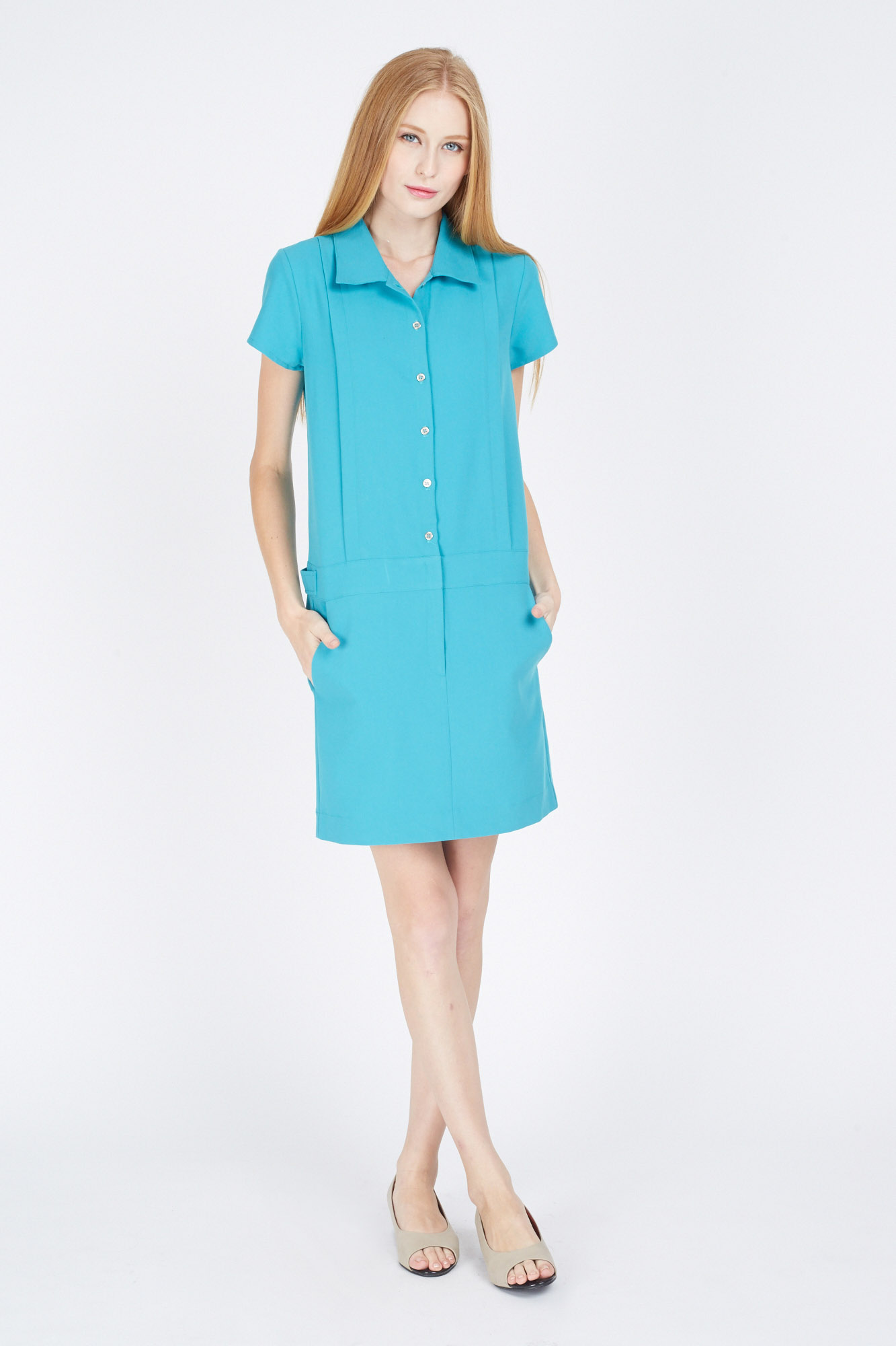 SELINA SHIRT DRESS