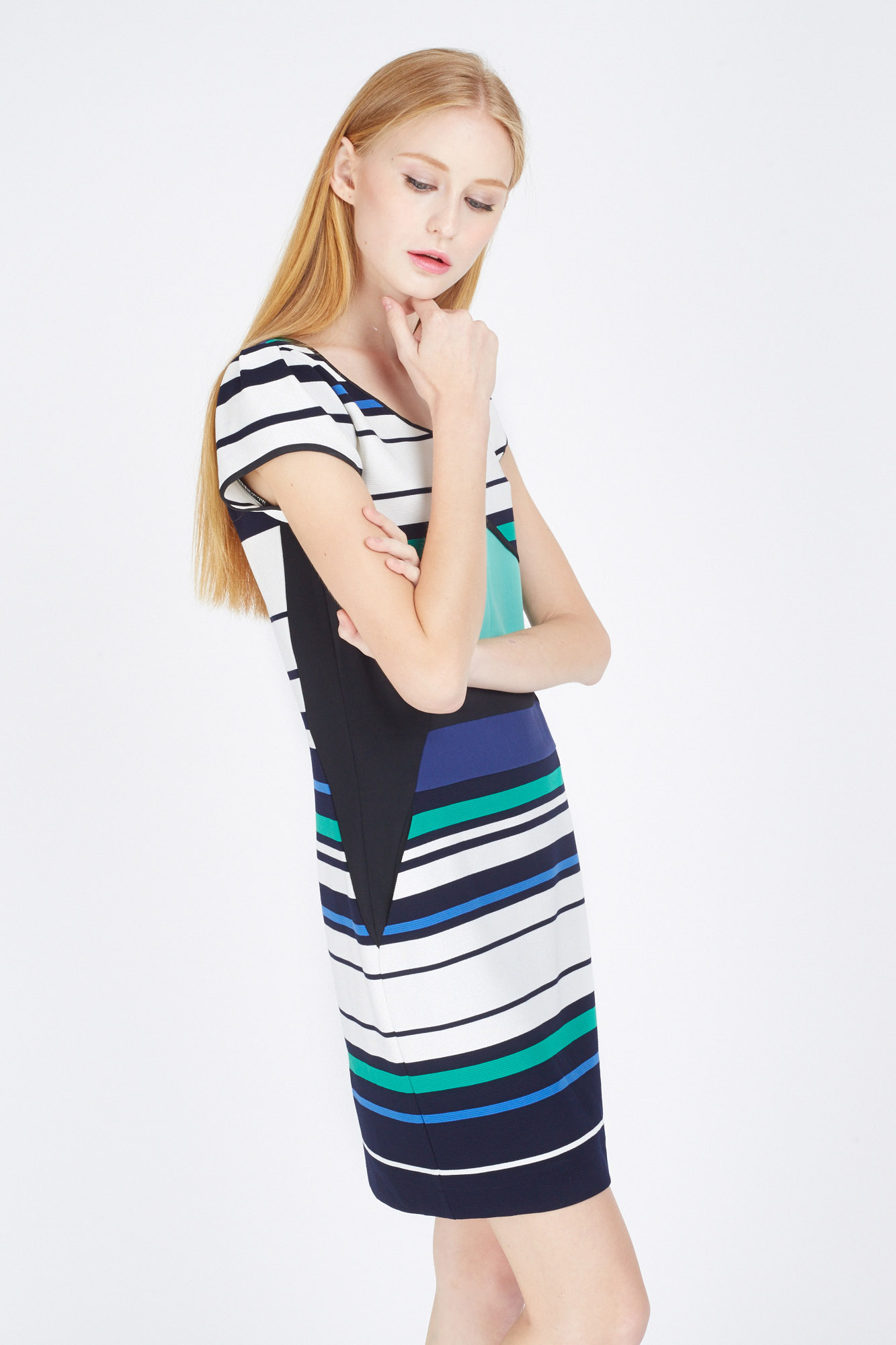 ZOEY STRIPE DRESS