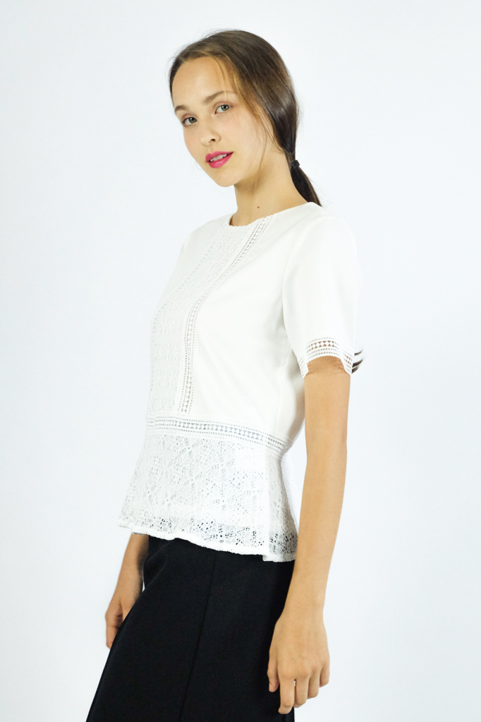 GEMMA LACE TOP